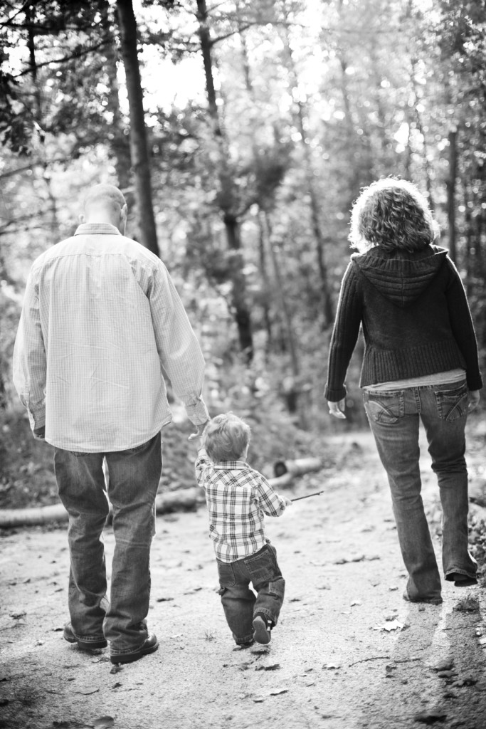 Black and White Family - iStock_000019048002_Medium
