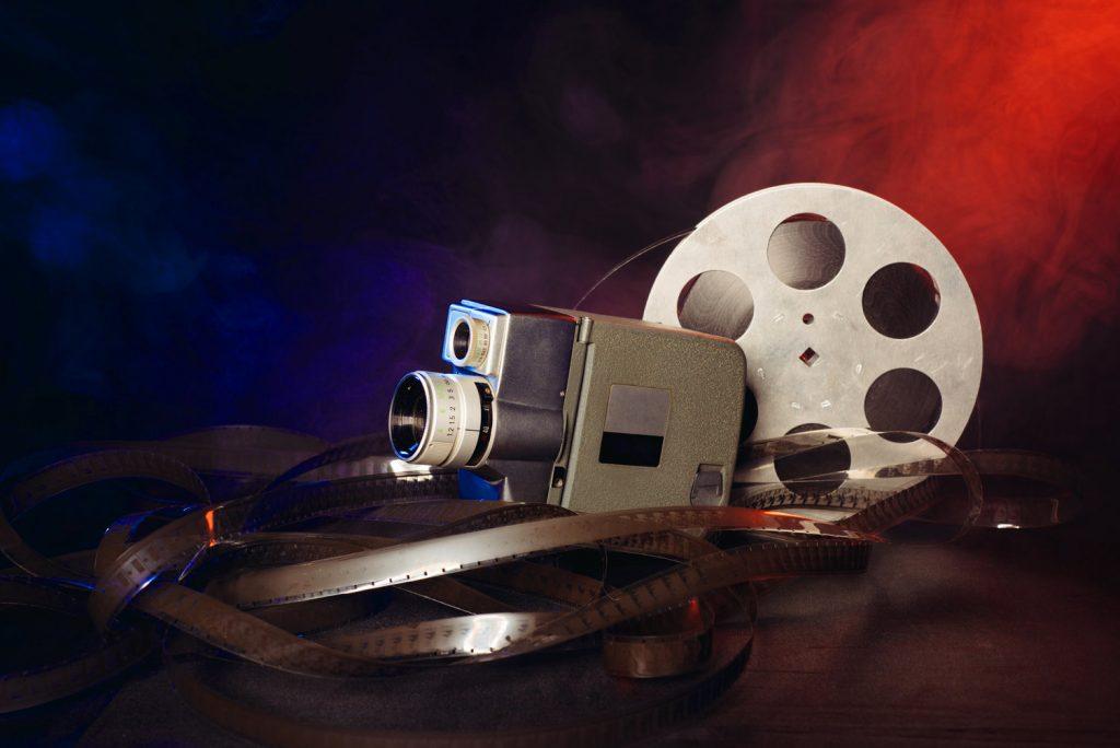 Retro 8mm Movie Camera