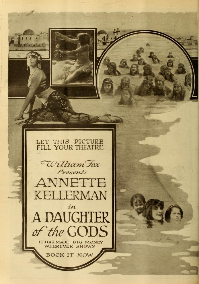 A Daughter of the Gods Poster