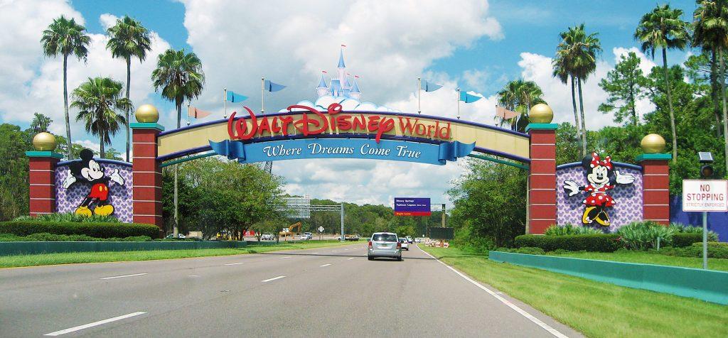 Entrance of Walt Disney World Resort